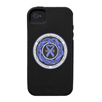 Esophageal Atresia Hope Intertwined Ribbon iPhone 4 Cases