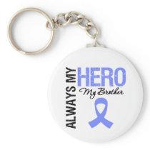 Esophageal Cancer Always My Hero My Brother Keychain