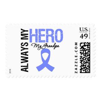 Esophageal Cancer Always My Hero My Grandpa Postage Stamp