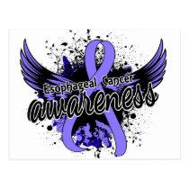 Esophageal Cancer Awareness 16 Postcard