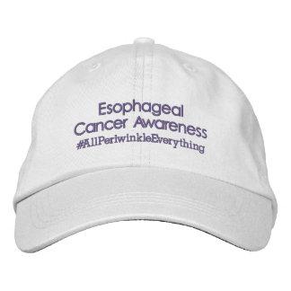Esophageal Cancer Awareness Adjustable Hat Embroidered Baseball Caps