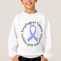 Esophageal Cancer Awareness and Support Sweatshirt