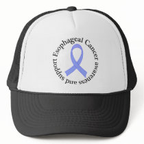 Esophageal Cancer Awareness and Support Trucker Hat