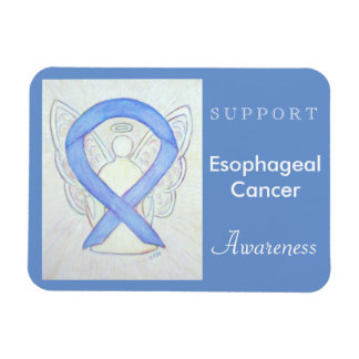 Esophageal Cancer Awareness Angel Custom Magnet