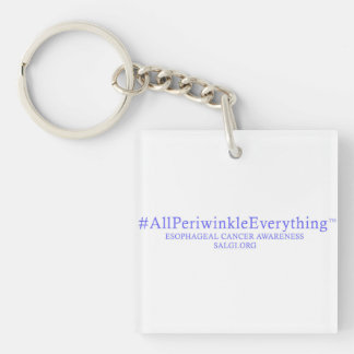 Esophageal Cancer Awareness Key Chain