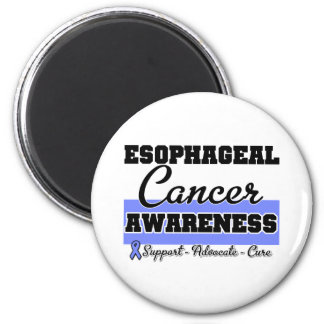 Esophageal Cancer Awareness 2 Inch Round Magnet
