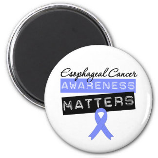 Esophageal Cancer Awareness Matters 2 Inch Round Magnet