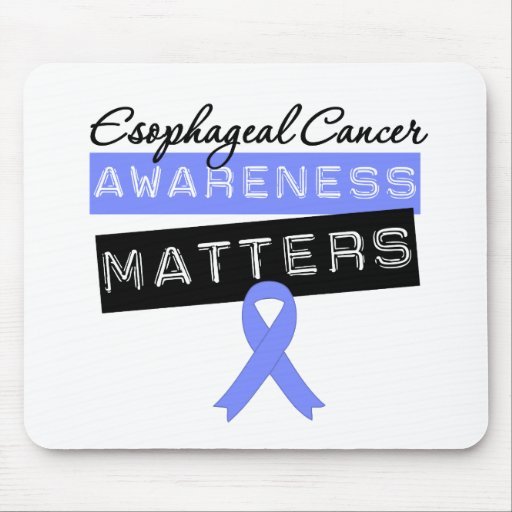 Esophageal Cancer Awareness Matters Mouse Mat