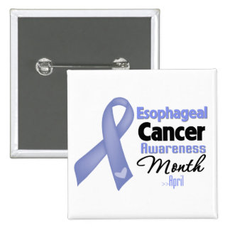 Esophageal Cancer Awareness Month Pinback Button