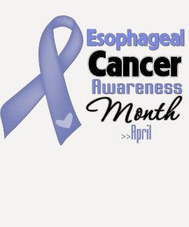 Esophageal Cancer Awareness Month Tee Shirt