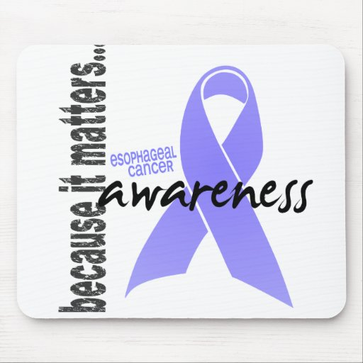Esophageal Cancer Awareness Mouse Pads