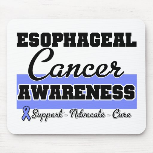 Esophageal Cancer Awareness Mouse Pad