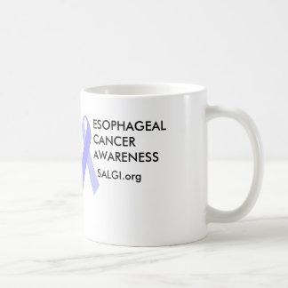 Esophageal Cancer Awareness Periwinkle Ribbon Mug