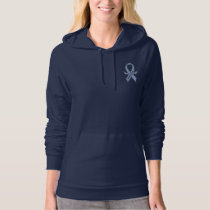 Esophageal Cancer Awareness Ribbon Hoodie