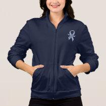 Esophageal Cancer Awareness Ribbon Jacket