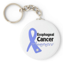 Esophageal Cancer Awareness Ribbon Keychains
