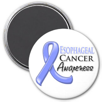 Esophageal Cancer Awareness Ribbon 3 Inch Round Magnet