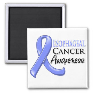 Esophageal Cancer Awareness Ribbon 2 Inch Square Magnet