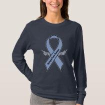 Esophageal Cancer Awareness Ribbon T-Shirt