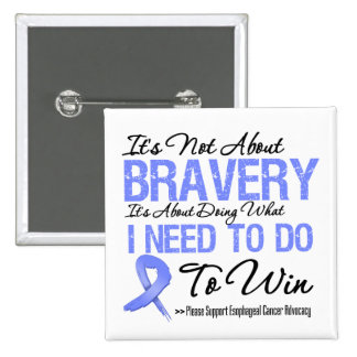 Esophageal Cancer Battle 2 Inch Square Button