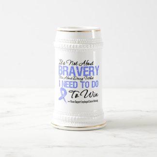 Esophageal Cancer Battle Beer Stein