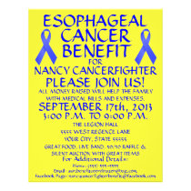 Esophageal Cancer Benefit Flyer
