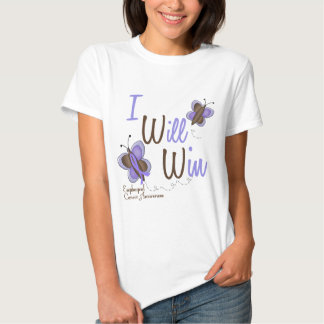 Esophageal Cancer Butterfly 2 I Will Win Shirt
