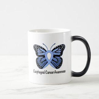 Esophageal Cancer Butterfly Awareness Ribbon Magic Mug
