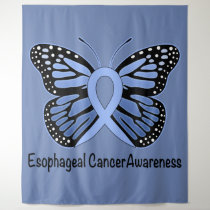 Esophageal Cancer Butterfly of Hope Tapestry