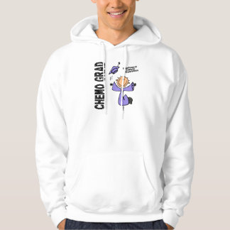 Esophageal Cancer CHEMO GRAD 1 Hooded Pullovers