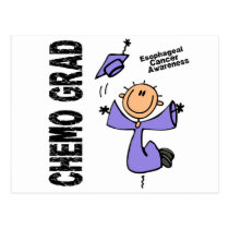 Esophageal Cancer CHEMO GRAD 1 Postcard