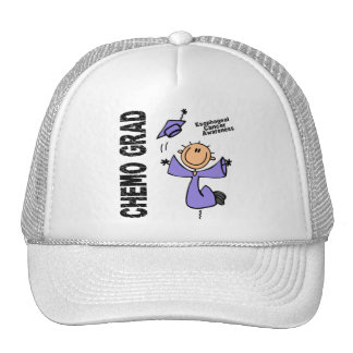Esophageal Cancer CHEMO GRAD 1 Trucker Hat