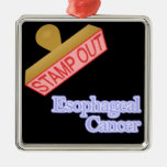 Esophageal Cancer Christmas Tree Ornaments