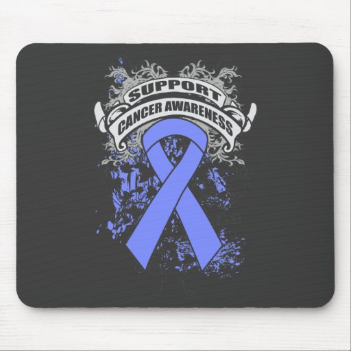 Esophageal Cancer - Cool Support Awareness Slogan Mouse Pads