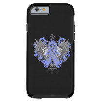 Esophageal Cancer Cool Wings Tough iPhone 6 Case