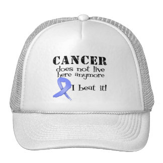 Esophageal Cancer Does Not Live Here Anymore Trucker Hat