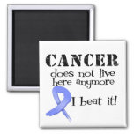 Esophageal Cancer Does Not Live Here Anymore Refrigerator Magnets
