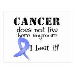 Esophageal Cancer Does Not Live Here Anymore Post Card