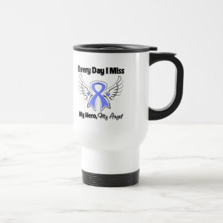 Esophageal Cancer Every Day I Miss My Hero 15 Oz Stainless Steel Travel Mug