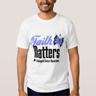 Esophageal Cancer FAITH MATTERS T-Shirt