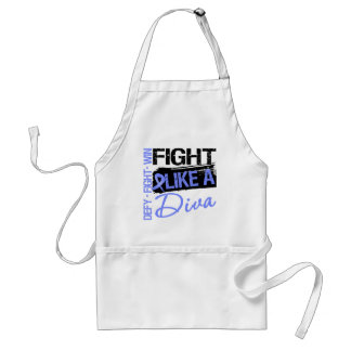 Esophageal Cancer - Fight Like a Diva Aprons
