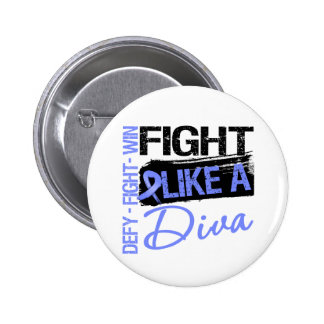 Esophageal Cancer - Fight Like a Diva Button