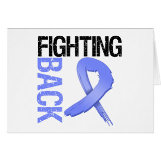 Esophageal Cancer Fighting Back Greeting Card