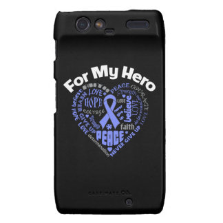 Esophageal Cancer For My Hero Droid RAZR Cases