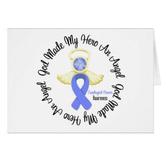 Esophageal Cancer God Made My Hero An Angel Greeting Card