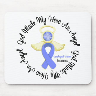 Esophageal Cancer God Made My Hero An Angel Mouse Pad