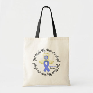 Esophageal Cancer God Made My Hero An Angel Tote Bag