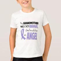 Esophageal Cancer Grandmother Kids T-Shirt