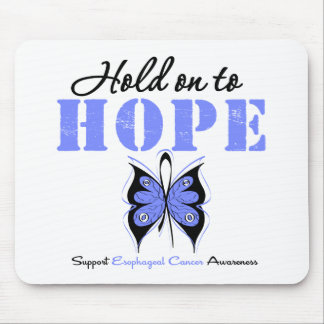 Esophageal Cancer Hold On To Hope Mouse Mat