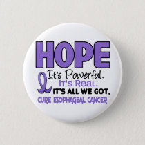 Esophageal Cancer HOPE 1 Pinback Button